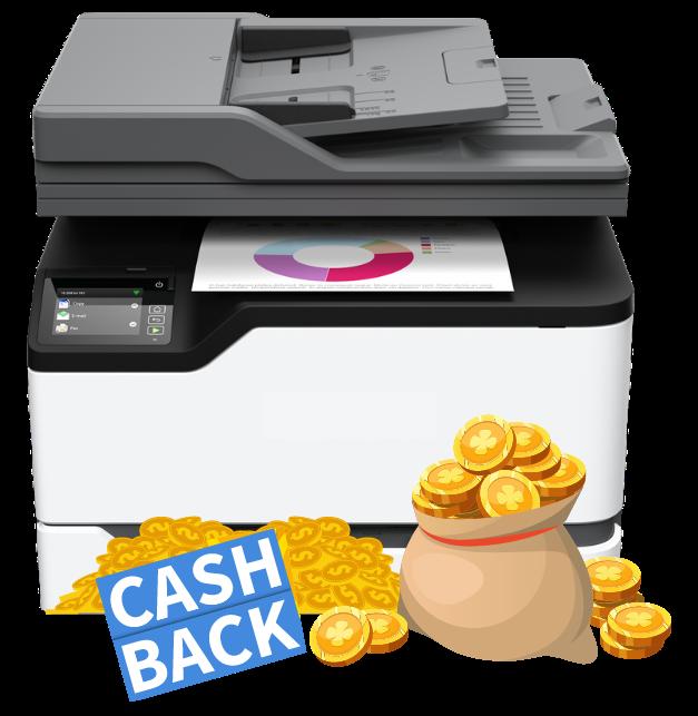 Printer Cash Back